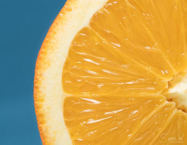 wanddecoratie, muur, foto, leuk, iets, ideeen, canvas, werk, print, hout, aluminium, digibond, woonkamer, kunst, online, shop, fotografie, Sven, Wildschut, sinaasappel, citrus, vrucht, gezond, oranje, blauw