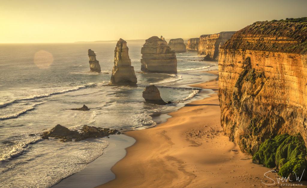 12 apostelen, australie, great, ocean, road, canvas, verkocht, sven, aan de muur,